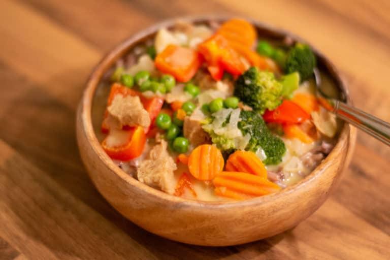 Gemüsefrikassee – einfach, schnell, lecker