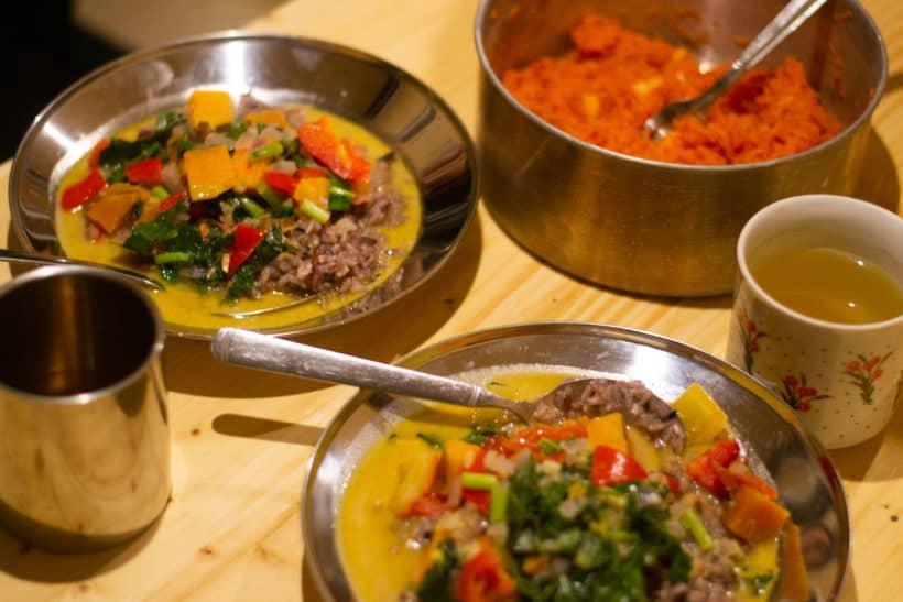 Bild von einem veganen Curry
