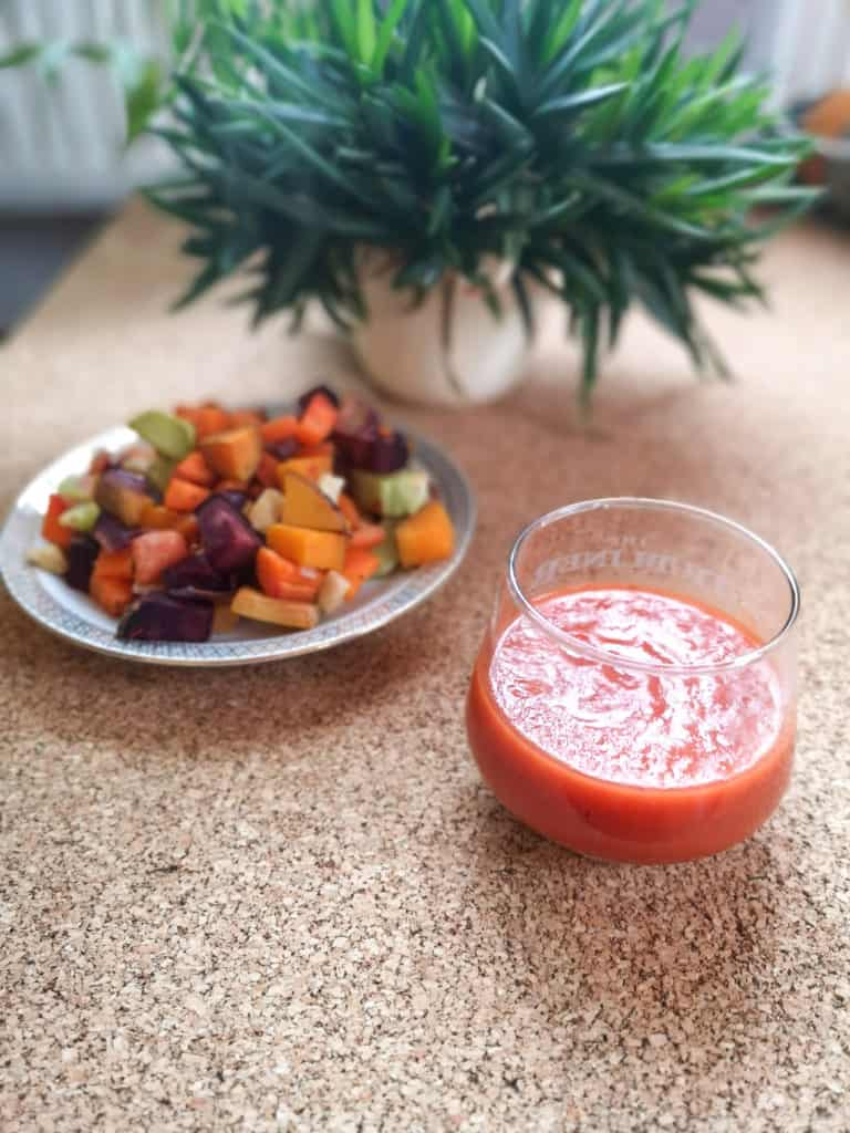 Zuckerfreier Apfel-Tomaten-Ketchup