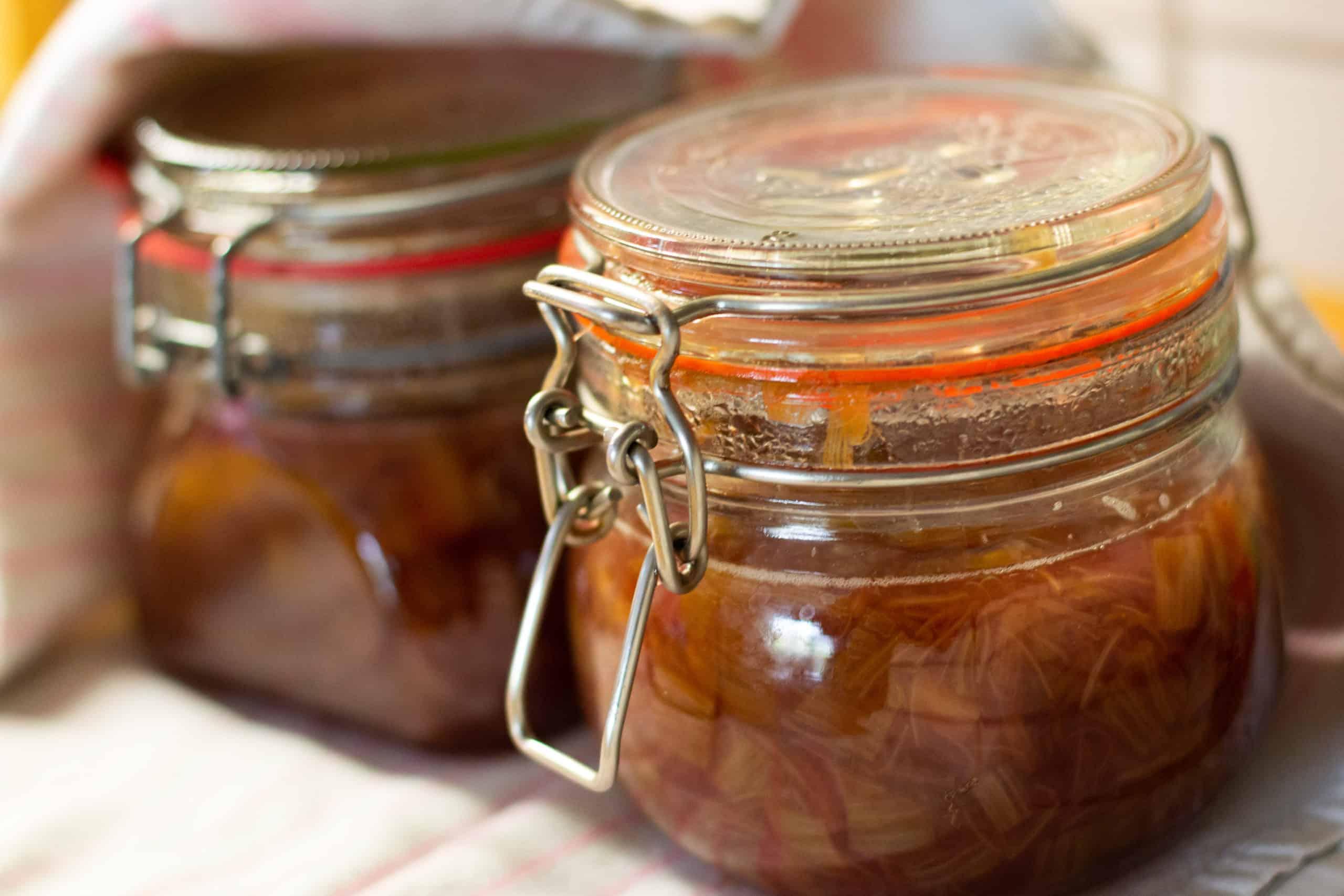 Rhabarber-Marmelade