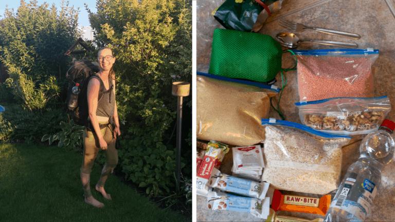 7 Tage Trekking-Tour – eine Packliste mit vollwertig, veganer Verpflegung